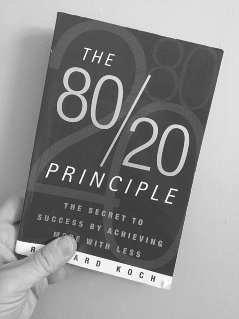 1 follow the 80 20 rule in everything you do a blog for Koch 80 20 principle